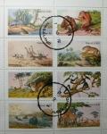 "Stamps : Asia : India :  "" Sellos que no son Sellos "". Animales Salvajes."