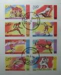 """Stamps : Asia : United_Arab_Emirates :  """" Sellos que no son Sellos """". Juegos Olimpicos de Montreal ."""