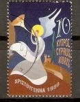 Sellos de Asia - Chipre -  ÀNGEL