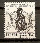 Sellos de Asia - Chipre -  NIÑO   TRAS   ALAMBRE   DE   PÙAS