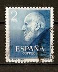Stamps Spain -  Santiago Ramon y Cajal.