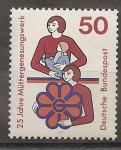Sellos de Europa - Alemania -  Ayuda a las madres.