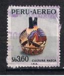 Stamps Peru -  Cultura Mazca