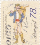 Sellos de Europa - Portugal -  vendedor de tejidos