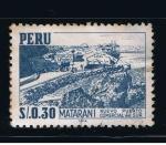 Sellos de America - Perú -  Matar-Ani  Nuevo puerto comercial del sur.