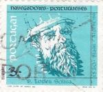 Sellos de Europa - Portugal -  navegantes portugueses-p.lopes sousa