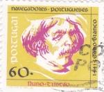 Stamps Portugal -  navegantes portugueses-nuno toscao
