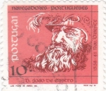 Stamps of the world : Portugal :  navegantes portugueses-joao de castro