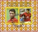 Stamps Africa - Benin -  Cristiano Ronaldo