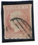Stamps Europe - Spain -  Isabel II (1852)