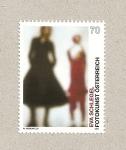 Stamps Austria -  Eva Schlegel, arte fotográfico