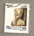 Sellos de Africa - Egipto -  Faraón Ammenothep