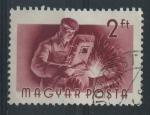 Sellos de Europa - Hungría -  S1130 - Soldador