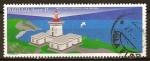 Sellos de Europa - Portugal -  Faros en las Azores-Faro de lo Contencioso - Terceira.