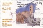 Stamps Spain -  patrimonio mundial de la humanidad-ibiza biodiversidad y cultura