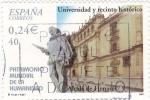 Sellos de Europa - España -  patrimonio mundial de la humanidad-universidad y recinto histórico