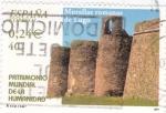 Stamps Spain -  patrimonio mundial de la humanidad-murallas romanas de lugo