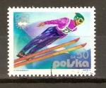 Stamps Poland -  SALTO   EN   SKY