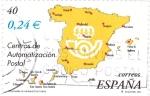Sellos de Europa - España -  centros de automatizacion postal