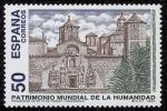 Stamps Spain -  ESPAÑA - MONASTERIO DE SANTA MARIA DE  POBLET