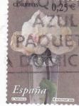 Stamps Spain -  la flor y el paisaje