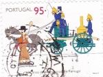 Stamps Portugal -  600 años del cuerpo de bomberos en Portugal