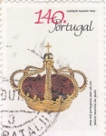 Sellos de Europa - Portugal -  corona real portuguesa