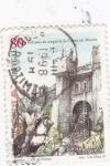 Sellos de Europa - Portugal -  850 años de la conquisra de Lisboa a los moros