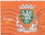 Sellos de Europa - Portugal -  escudo-Aveiro