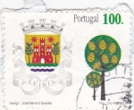Stamps Portugal -  escudo-leiria