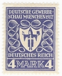 Stamps Germany -  Arms of Munich