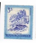 Stamps Austria -  Paisajes - Salzburgo
