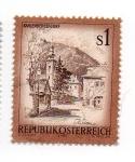 Stamps Austria -  Paisajes - Viena
