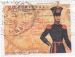 Sellos de Europa - Portugal -  oficial de ingenieros