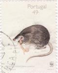 Stamps Portugal -  mofeta de agua
