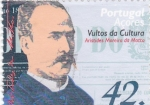 Stamps of the world : Portugal :  Açores-Aristides Moreira  da Motta-cultura