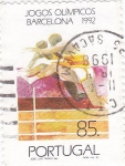 Stamps of the world : Portugal :  juegos olimpicos Barcelona 1992
