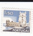 Stamps Portugal -  torre de Belen-Lisboa