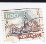 Sellos del Mundo : Europa : Portugal : torre de los clerigos-Oporto