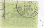 Stamps of the world : Portugal :  correo a caballo