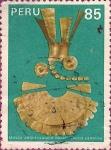 Sellos de America - Perú -  Museo Arqueológico Rafael Larco Herrera - Joyería en Oro.