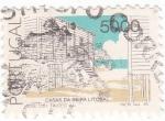 Stamps : Europe : Portugal :  casas de beira litotal