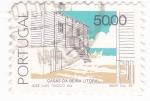 Sellos de Europa - Portugal -  casas de beira litotal