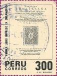 Sellos de America - Perú -  400 Aniv. del Primer Libro Impreso en Sudamérica.