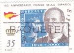 Sellos de Europa - España -  150 aniversario primer sello español