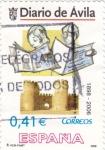 Stamps Spain -  periodicos de España-DIARIO DE AVILA