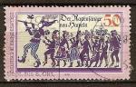 Stamps Germany -  819 - El Flautista de Hamelin