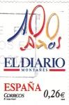 Sellos de Europa - España -  periodicos de España-EL DIARIO MONTAÑES