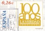 Sellos de Europa - España -  periodicos de España-LA  VERDAD