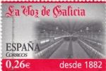Sellos de Europa - España -  periodicos de España-LA VOZ DE GALICIA
